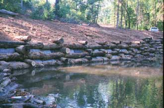 photo of Wise Creek Recreation After before the restoration project